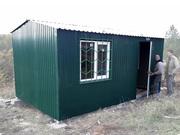 Дачный домик 5, 0х3, 0х2, 2 зеленый