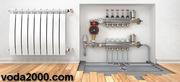 Cистеми опалення,  водопостачання,  водовідведення,  каналізації